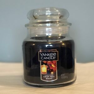 NEW Yankee Candle Black Crisp Fall Night 14.5oz